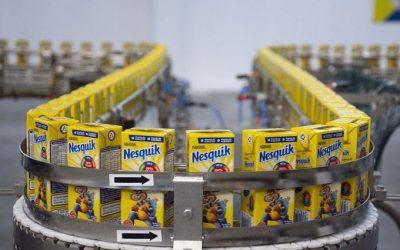 Nestlé Argentina inauguró una nueva línea de producción