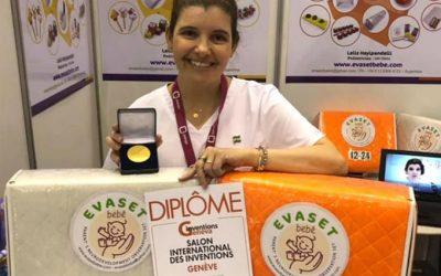 Pediatra argentina premiada en Geneva Inventions
