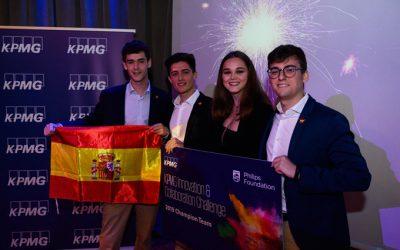 Un equipo de estudiantes de España ganó el KICC 2019