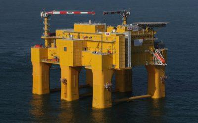 ABB emitirá energía eólica desde el Mar del Norte