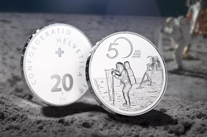 Swissmint lanzó dos nuevas monedas conmemorativas