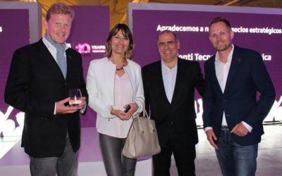 MCI conmemoró su décimo aniversario en la Argentina