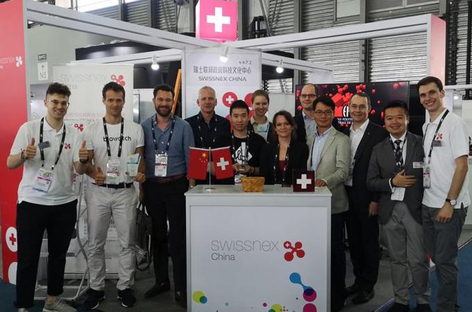 #SwissTech En El Mayor Salón De Electrónica De Asia