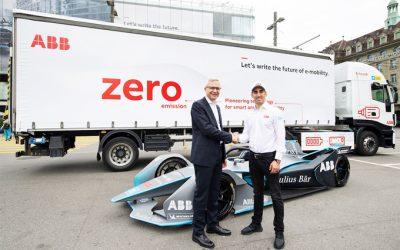 ABB lanza la electrificación de su flota pesada en Suiza