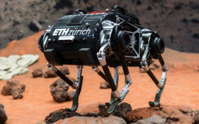Un robot antílope suizo hacia la  Luna