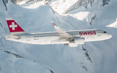Swiss registra un nuevo incremento de pasajeros