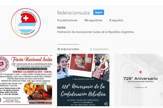 FASRA se suma a la ola de  Instagram