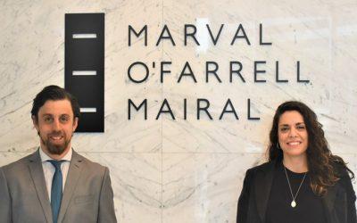 Marval, O'Farrell & Mairal incorpora nuevos socios en áreas Laboral y M&A