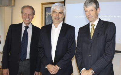 Presentación en la CCSA: «El camino de la transformación ferroviaria en la Argentina»