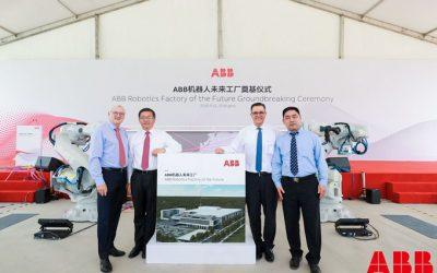 ABB inicia la construcción de una nueva fábrica de robótica en Shanghái
