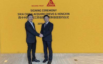 Sika adquiere fabricante de selladores y adhesivos de silicona en China