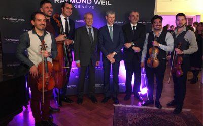Raymond Weil celebró sus lanzamientos en Argentina de la mano del Grupo Chronex