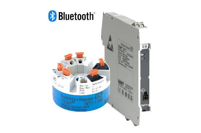 Endress+Hauser Lanza Transmisores De Temperatura De Un Solo Canal Y Bluetooth