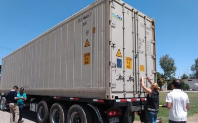 MSC contribuye al envío del  primer contenedor de cerezas a China