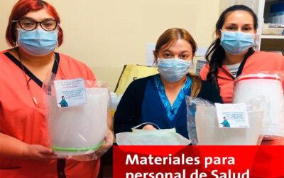HOLCIM ARGENTINA ENTREGA PROTECTORES FACIALES IMPRESOS EN 3D