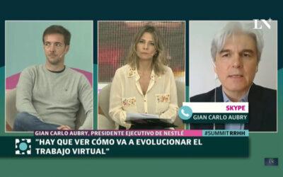 GIAN CARLO AUBRY, CEO DE NESTLÉ: EVOLUCIÓN DE LAS DINÁMICAS DE TRABAJO