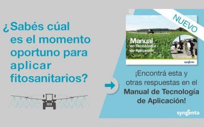 SYNGENTA LANZA MANUAL DE TECNOLOGÍA PARA APLICACIÓN DE FITOSANITARIOS