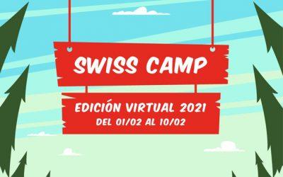 SIGUEN ABIERTAS LAS INSCRIPCIONES AL SWISS CAMP 2021 VIRTUAL