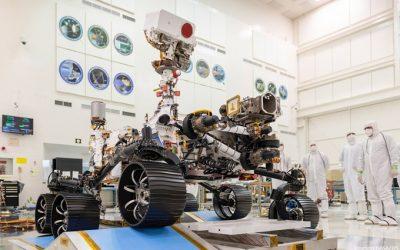 ABB PROVEYÓ CABLES TY-RAP PARA LA MISIÓN MARS PERSEVERANCE DE LA NASA