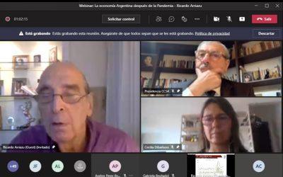 RICARDO ARRIAZU: LA ECONOMÍA ARGENTINA DESPUÉS DE LA PANDEMIA