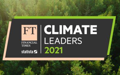 FIRMENICH ES UNO DE LOS LÍDERES CLIMÁTICOS 2021 DEL FINANCIAL TIMES