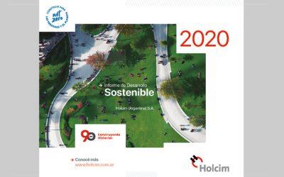 HOLCIM ARGENTINA PRESENTÓ SU INFORME DE DESARROLLO SOSTENIBLE 2020